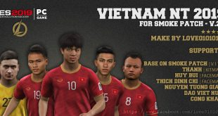[HOT] PES 2019 | Add-On Vietnam 2019 For Smoke PATCH EXECO V.2.0