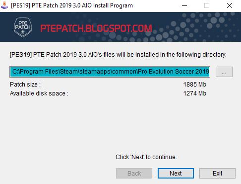 PTE Patch PES 2019 Update 3 1 Mới nhất-allfree247 com
