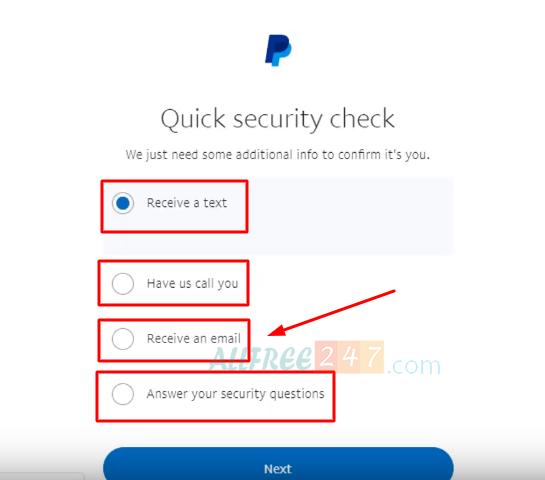Sửa lỗi đăng nhập paypal-Sorry, we couldn't confirm it's you 4