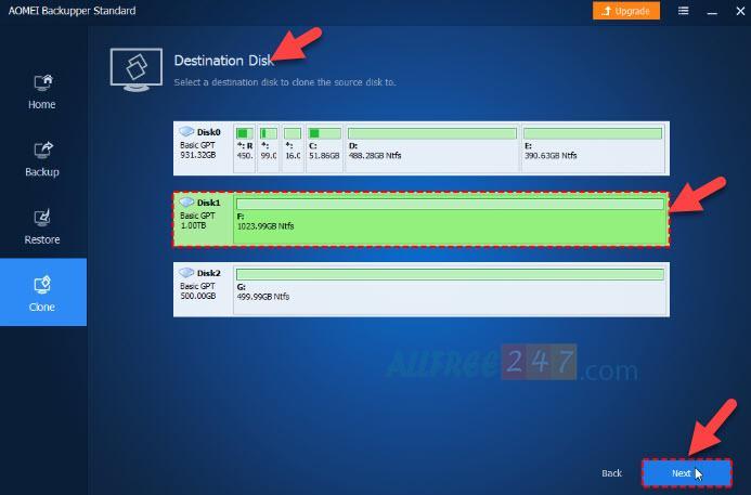 AOMEI Backupper Standard 1