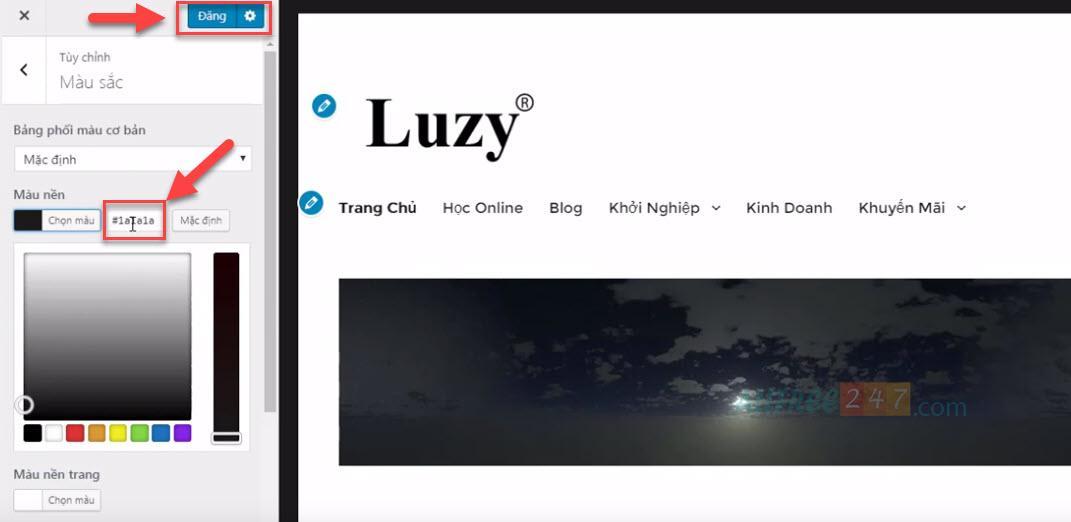 chon mau website dep va chuyen nghiep 5