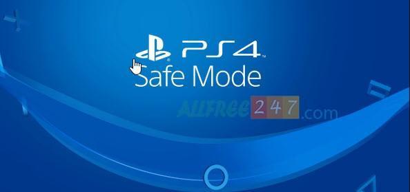 che do safe mode ps4