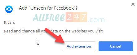 facebook unseen huong dan