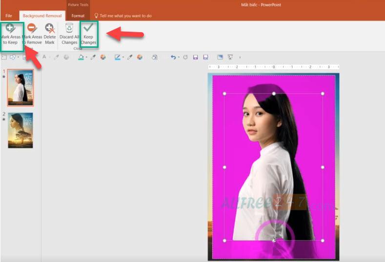 huong dan thiet ke poster mat biec bang powerpoint_7