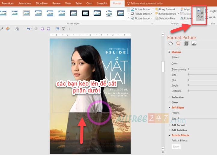 huong dan thiet ke poster mat biec bang powerpoint_8