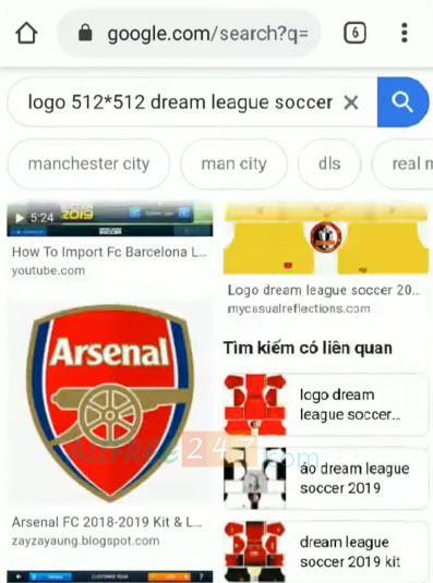 thay doi logo dream league soccer 2020_1