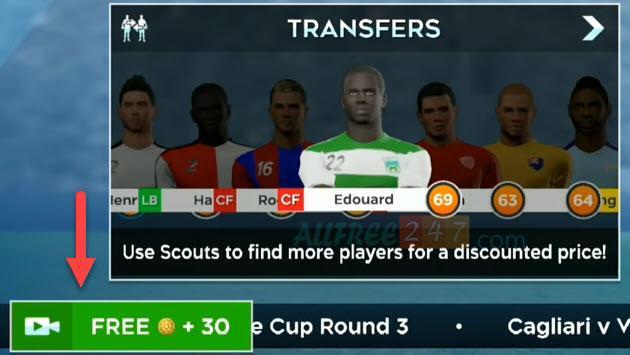 xem quang cao nhieu lan kiem tien dream league soccer 2020