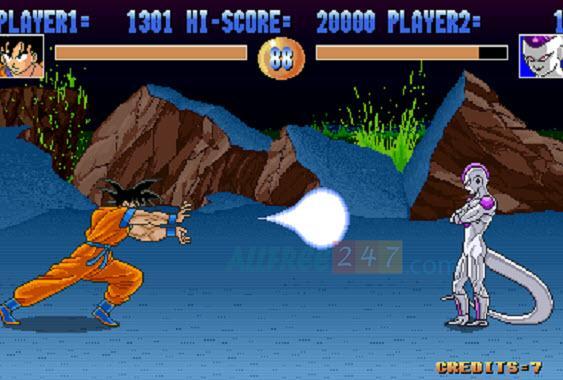 game thung  dragonballz