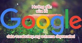 huong dan chi tiet sua loi data-vocabulary.org schema deprecated 2020_11