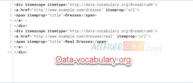 huong dan chi tiet sua loi data-vocabulary.org schema deprecated 2020_4