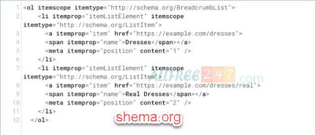 huong dan chi tiet sua loi data-vocabulary.org schema deprecated 2020_5