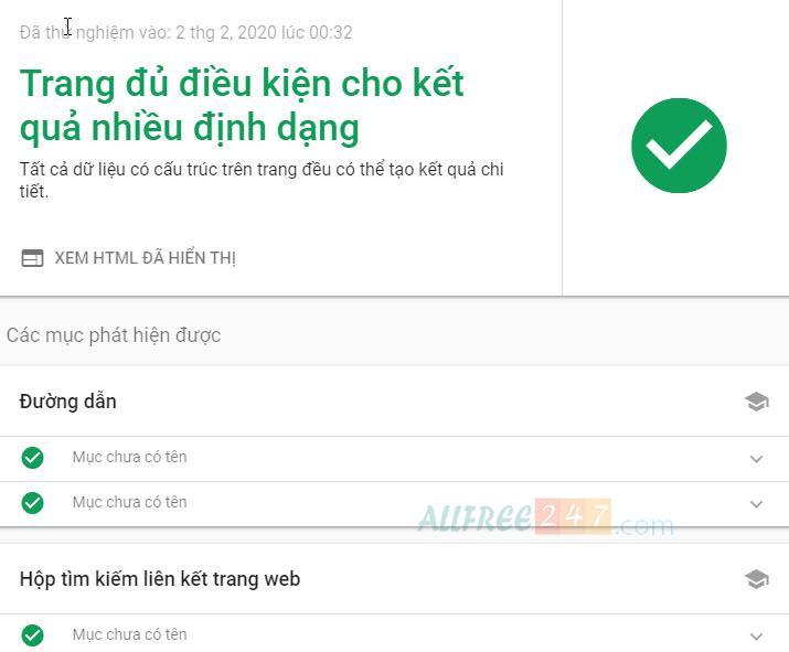 huong dan chi tiet sua loi data-vocabulary.org schema deprecated 2020_9