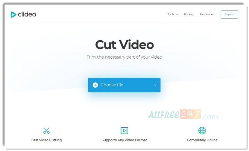 top 10 phan mem cat video tot nhat 2020_hinh 8_clideo video cutter