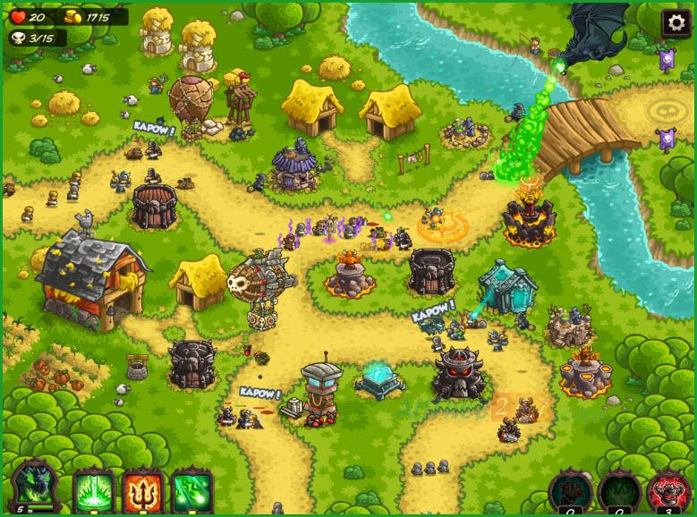 Kingdom Rush hack- hinh 2