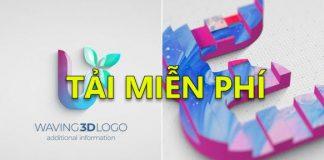 tai intro drawing 3d logo reveal 2
